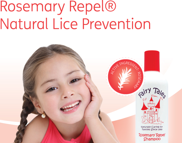 Fairy Tales Rosemary Natural Lice Prevention